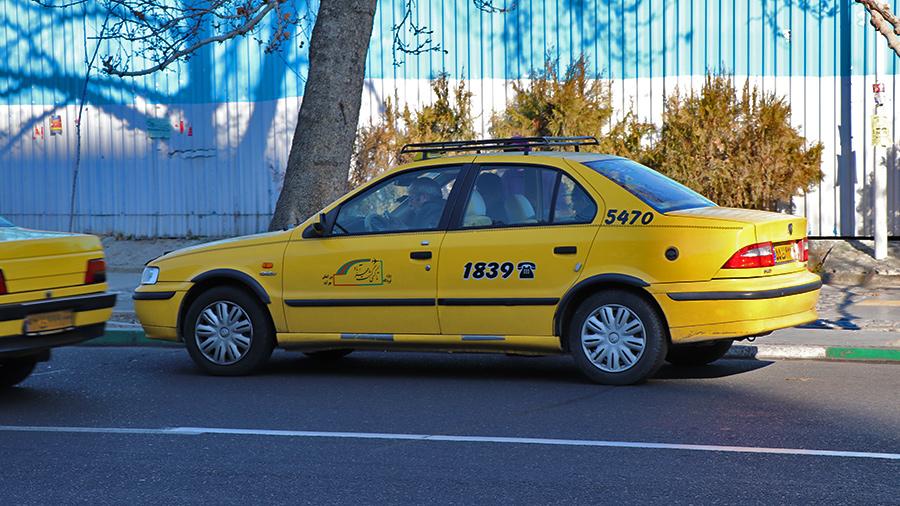 Darbast Yellow Taxis in Tehran