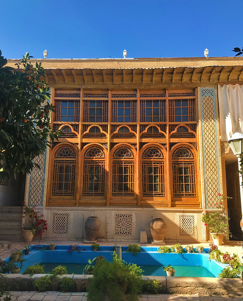 Iranian house in Shiraz