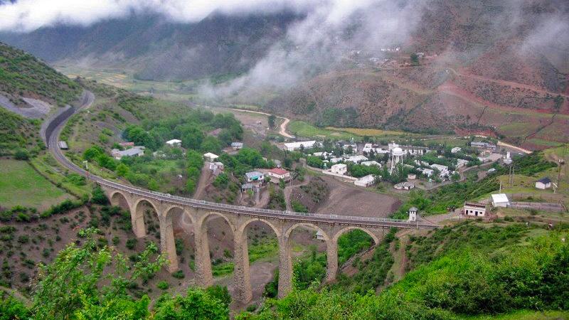 the unesco heritage iranian railway