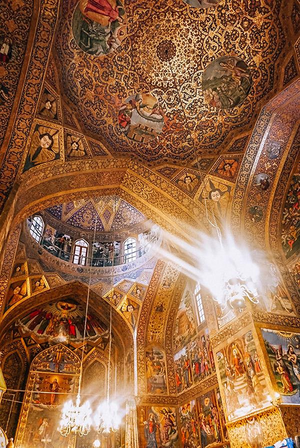 Vank cathedral in Isfahan Iran