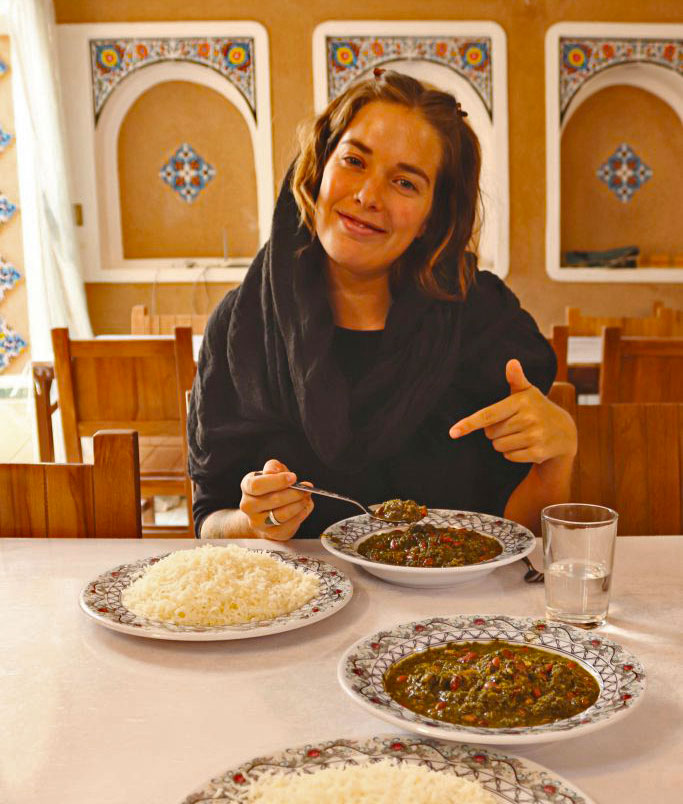 cooking tour in Varzaneh