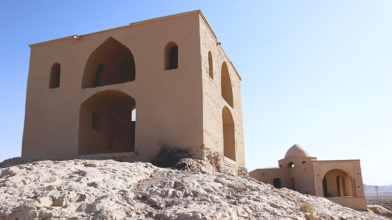 Zoroastrian temple in Varzaneh