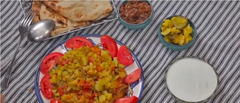 gale hami is a Zoroastrian vegan food