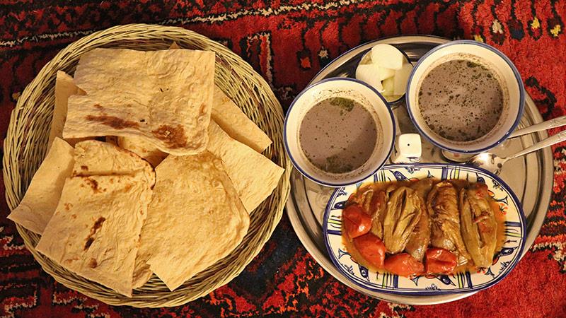Taste of Iran food