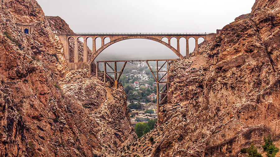 Veresk Bridge, Pol-e Piroozi