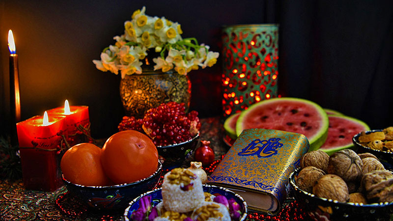 Yalda night table