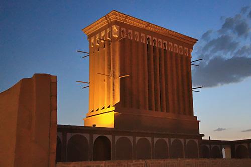 Yazd, an Earthen Town of Wind-Catchers