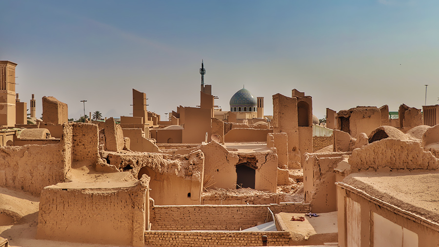 The desert city of Yazd