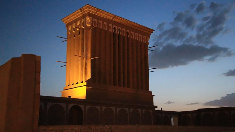 Yazd desert city